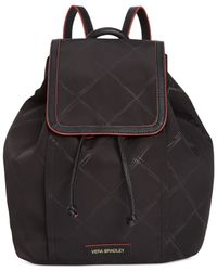 Vera Bradley | Black Diamond-patterned Backpack | Lyst