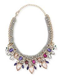Marina Rinaldi | Multicolor Laos Crystal Necklace | Lyst