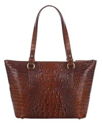 Brahmin   Brown Melbourne Collection Medium Asher Tote   Lyst