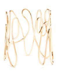Repossi | Pink 18k Rose Gold White Noise Bracelet | Lyst