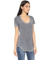 Cotton Citizen - Gray The Mykonos Scoop Tee - Lyst