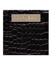 Carvela Kurt Geiger | Black Alison Croc Wallet | Lyst