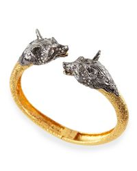 Alexis Bittar - Metallic Elements Fox-Head Bypass Cuff for Men - Lyst
