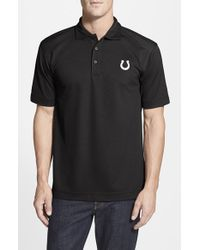 Cutter & Buck | Black 'indianapolis Colts - Genre' Drytec Moisture Wicking Polo for Men | Lyst