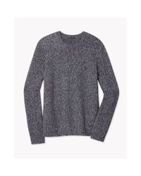Theory - Blue Riland Sweater In Gravels for Men - Lyst