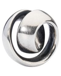 Trollbeads | Metallic Never-ending Sterling Silver Charm | Lyst