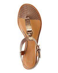 Aerin | Metallic Bronze Swift Sandal | Lyst