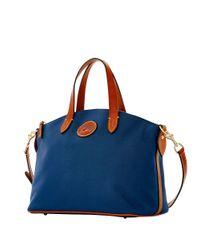 Dooney & Bourke | Blue Small Gabriella Satchel Bag | Lyst
