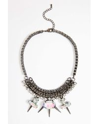 Nasty Gal - White Ice Cold Collar - Lyst