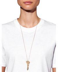 Carolina Bucci | Diamond, Sapphire & Yellow-Gold Necklace | Lyst