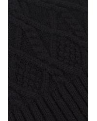 Akira Black Label - Fleece Lined Hat - Black - Lyst