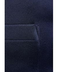 Adam Lippes Blue Satin-crepe Mini Skirt