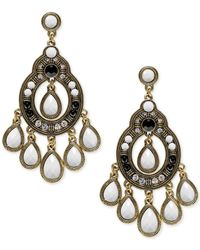 INC International Concepts | Metallic Gold-tone Chandelier Drop Earrings | Lyst