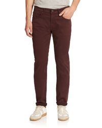 J Brand | Purple Kane Slim Straight-leg Jeans for Men | Lyst