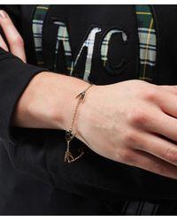 McQ Alexander McQueen - Metallic Swallow Bracelet - Lyst
