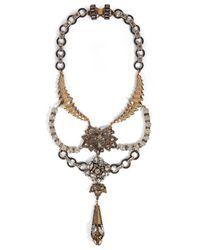 Erickson Beamon - White Bette Necklace - Lyst