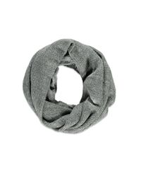 Forever 21 | Gray Purl Knit Infinity Scarf You've Been Added To The Waitlist | Lyst