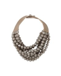 Fairchild Baldwin | Gray Bella Beaded Necklace | Lyst