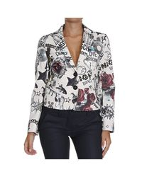 Love Moschino | Pink Jackets | Lyst