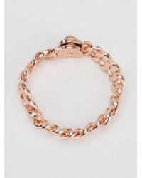 Marc By Marc Jacobs | Metallic 'Turnlock Small Katie' Bracelet | Lyst