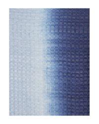 Linea Weekend | Blue Windowpane Ombre Scarf | Lyst