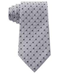 Geoffrey Beene - Gray Dimension Neat Tie for Men - Lyst