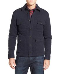 Brooks Brothers - Blue Regular Fit Quilted Cotton Blend Jacket for Men - Lyst