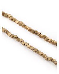Joseph Brooks | Metallic Cube Bead Necklace for Men | Lyst