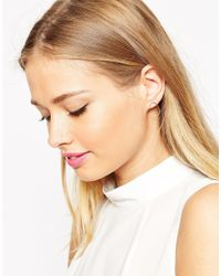 ASOS | Pink Limited Edition Open Teardrop Earrings | Lyst