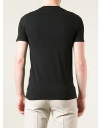 Armani Jeans Black Logo Tshirt for men