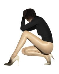 Wolford Natural 20 Denier Satin Touch Tights