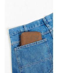Herschel Supply Co. | Brown Walt Leather Zip Wallet | Lyst