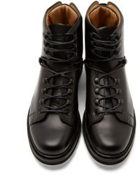 OAMC - Black Leather Karakoram Boots for Men - Lyst