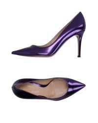 Gianvito Rossi - Purple Court - Lyst