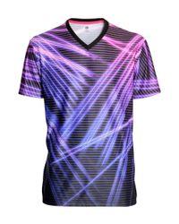 H&M | Black V-neck Tennis Shirt for Men | Lyst