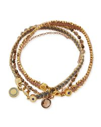 Astley Clarke | Multicolor Moonlight Days Bracelet Stack | Lyst