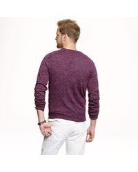 J.Crew - Purple Slim Sedona Sweater for Men - Lyst