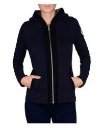 Napapijri | Blue Full Zip Ls Fleece | Lyst