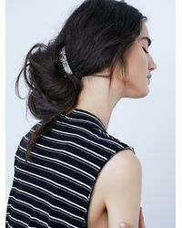 Free People | Gray Medusas Heirlooms Womens French Comb | Lyst