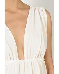 Bronzette | Natural Lauren Beige Dress | Lyst