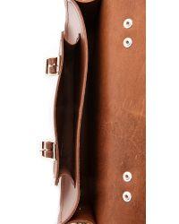 Cambridge Satchel Company | Brown 11'' Satchel With Top Handle - Vintage | Lyst