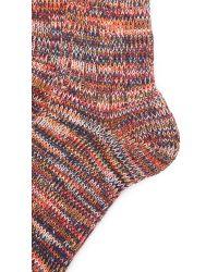 Anonymous Ism - Orange 5 Color Mix Crew Socks for Men - Lyst