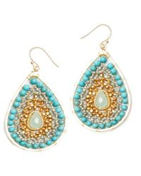 Nakamol | Multicolor Luminance Earrings-turquoise | Lyst