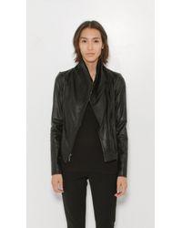 VINCE | Black Scuba Jacket | Lyst