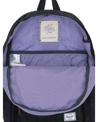 Herschel Supply Co. Green 19l Heritage Canvas & Leather Backpack for men