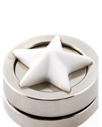 Givenchy | Metallic Star Stud Earring | Lyst