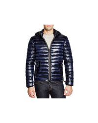 Duvetica | Blue Troilo Hooded Down Jacket for Men | Lyst