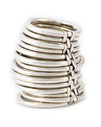 Shaun Leane - Metallic Bound Ring - Lyst