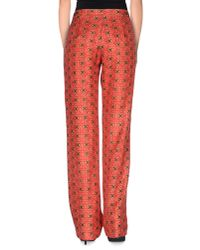 Manoush - Red Casual Trouser - Lyst