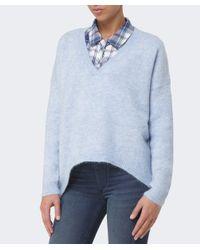 Gestuz - Blue Gaby V-neck Pullover - Lyst